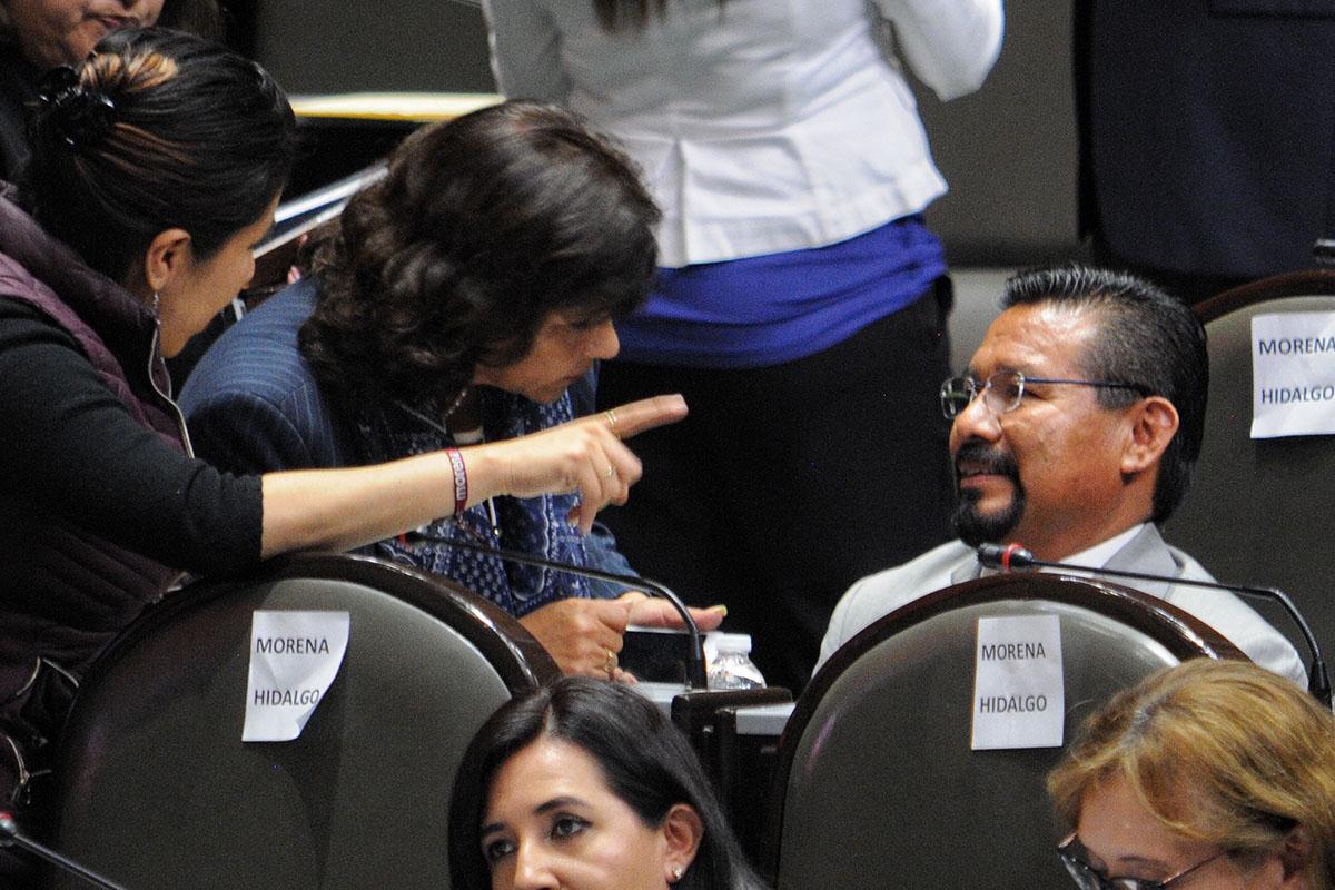 Cipriano Charrez Pedraza, Morena, Licencia, desafuero, Hidalgo,