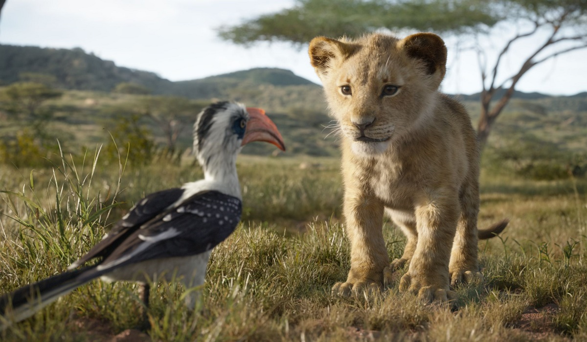"THE LION KING - Featuring the voices of John Oliver as Zazu, and JD McCrary as Young Simba, Disney's ""The Lion King"" is directed by Jon Favreau. In theaters July 29, 2019. © 2019 Disney Enterprises, Inc. All Rights Reserved."