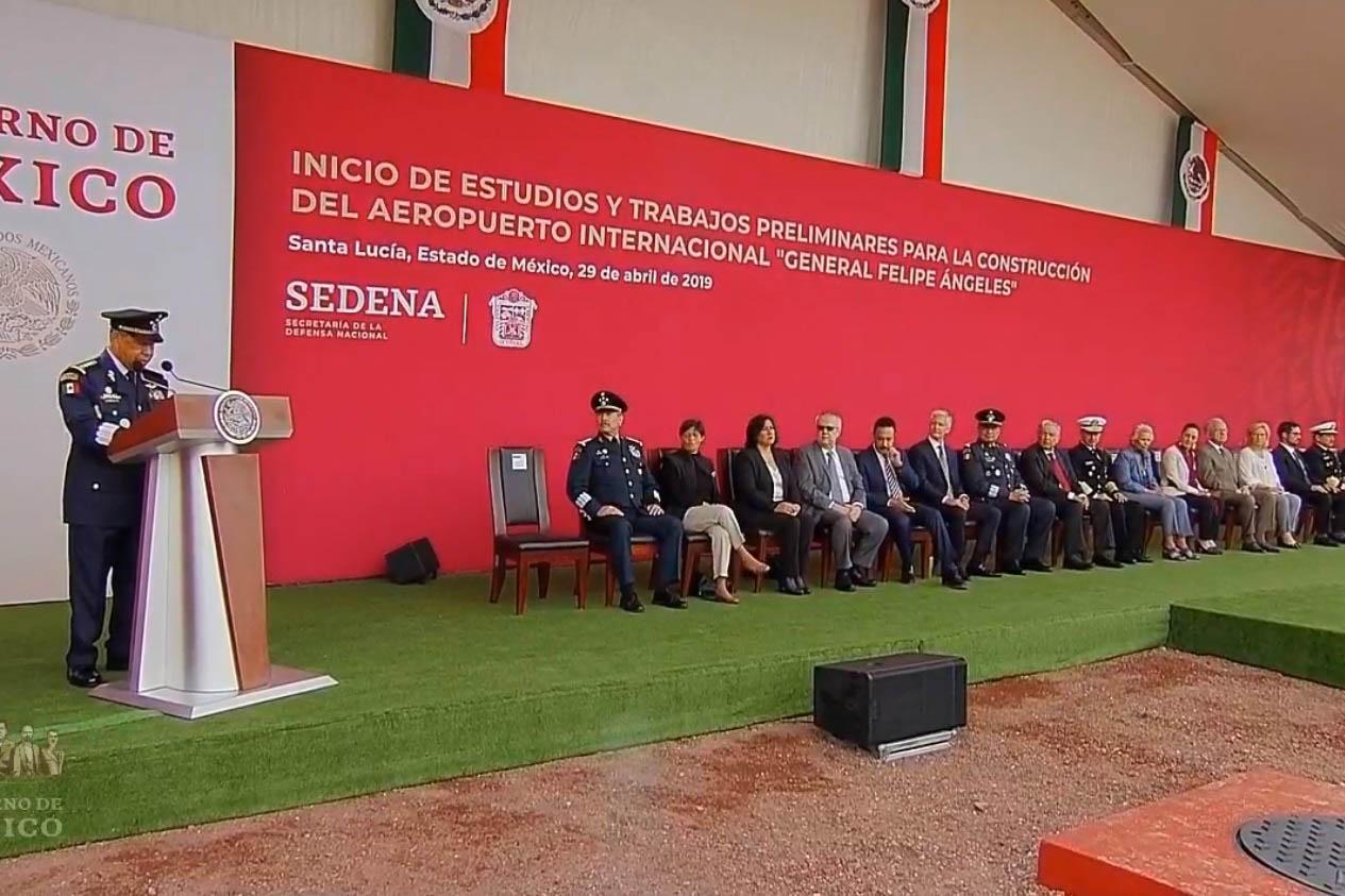 Santa Lucía, Aeropuerto, inauguración, AMLO, General Felipe Ángeles,