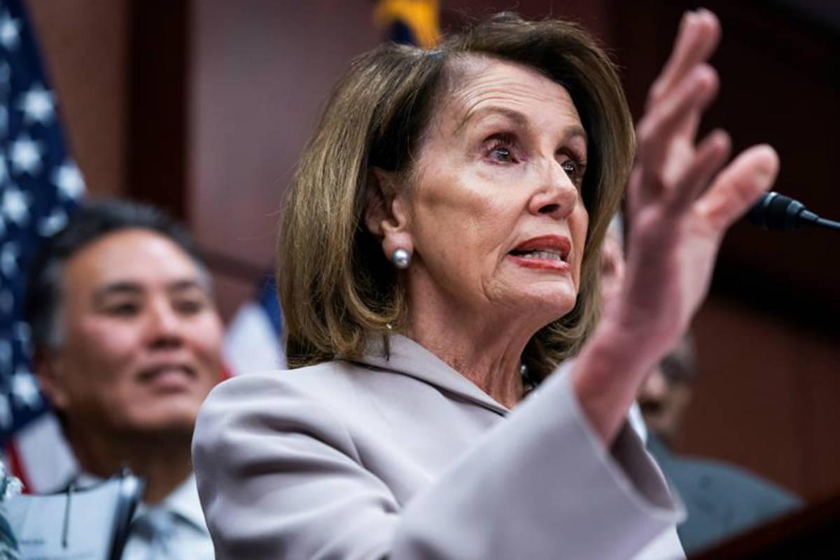 Nancy Pelosi, presidenta de la Cámara de Representantes (EFE)