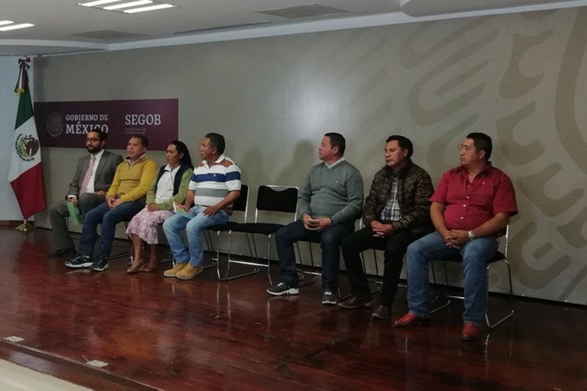 Presos políticos, amnistía, libertad, Alejandro Encinas, Segob,