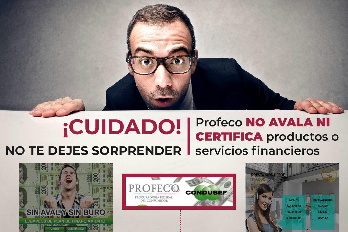 Profeco, instituciones financieras, Condusef,