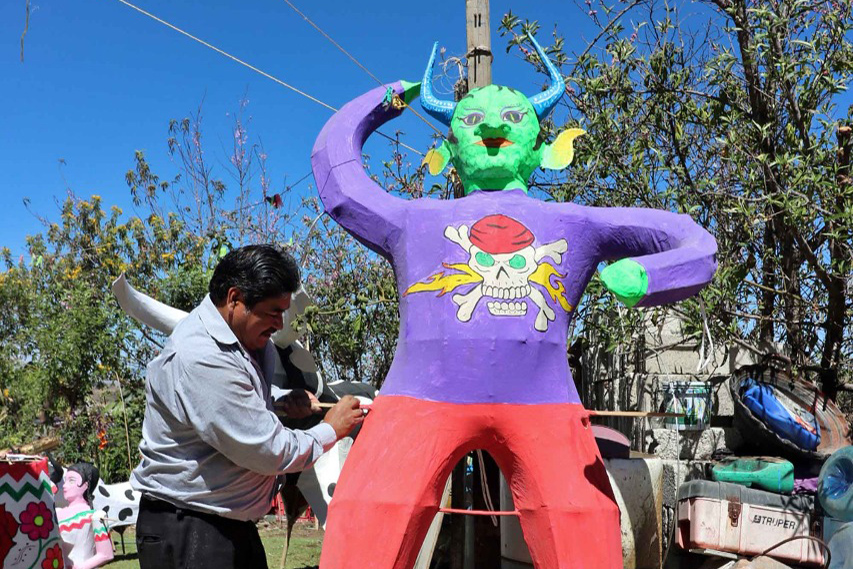 Judas, Semana Santa, Estado de México, Carrizo, Sábado de Gloria,