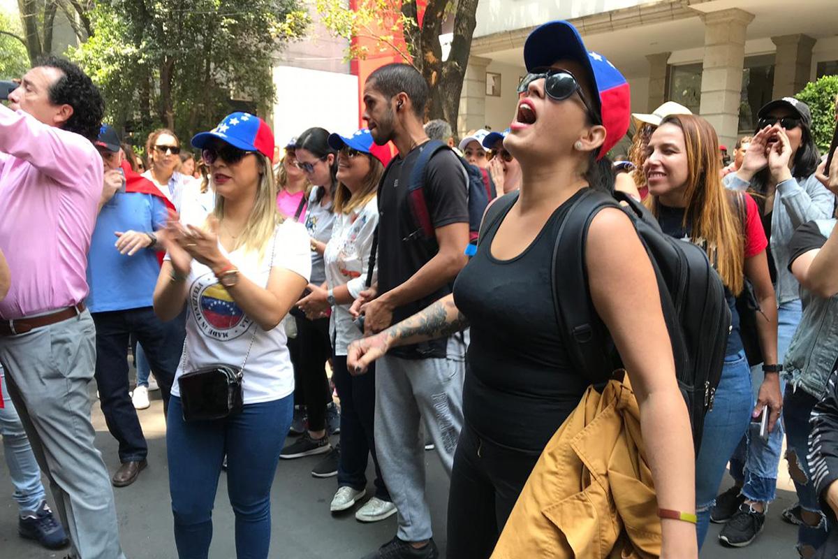 Venezuela, protestas, Embajada, Nicolás Maduro, Juan Guaidó,