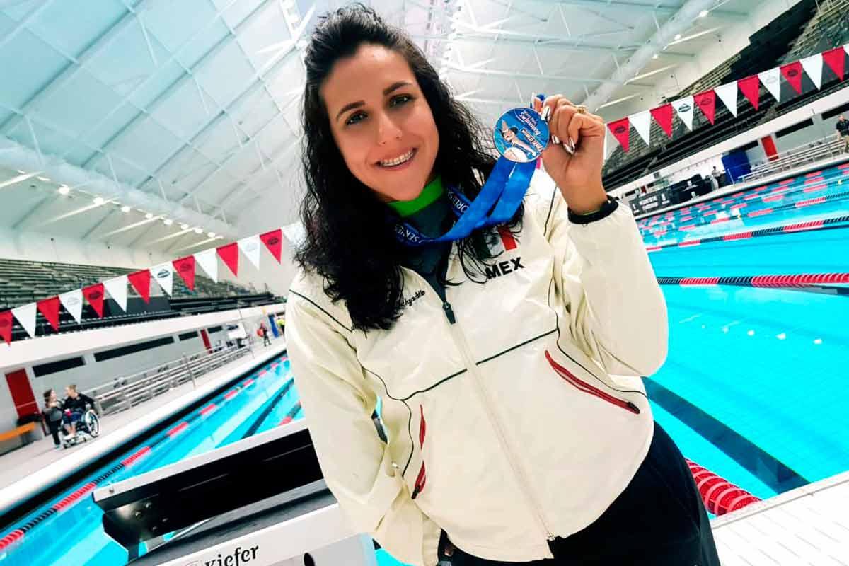 Vianney Trejo, atletas paralímpicos, natación