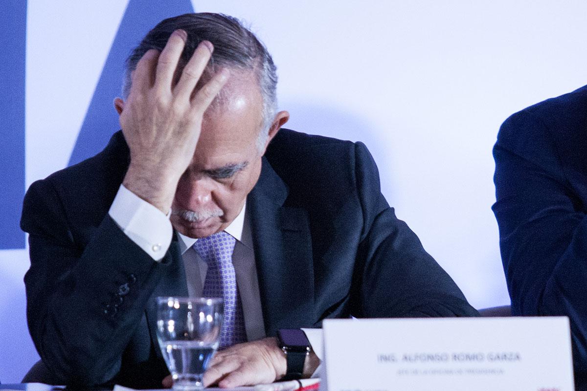 Jefe de la Oficina de la Presidencia de la República, Alfonso Romo, recesión económica, INEGI, Producto Interno Bruto,