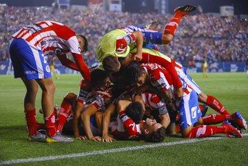 San Luis se coronó al vencer a Dorados. Foto: Twitter