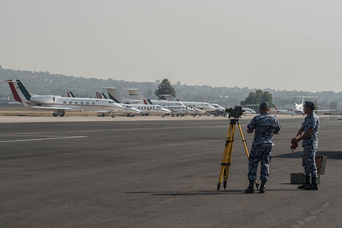 Santa Lucía, AICM, Toluca, Organización de Aviación Civil Internacional, Secretaría de Comunicaciones y Transportes,
