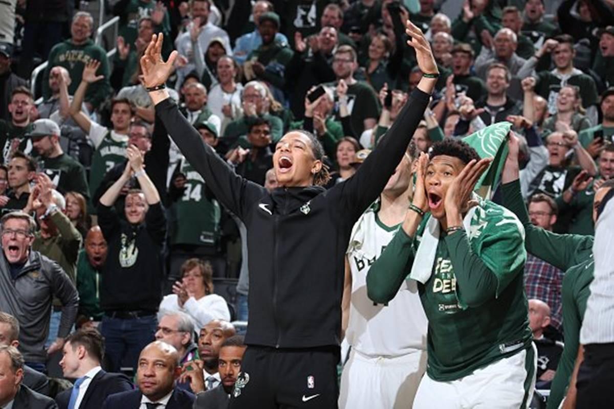 Bucks a la final. Foto: Bucks