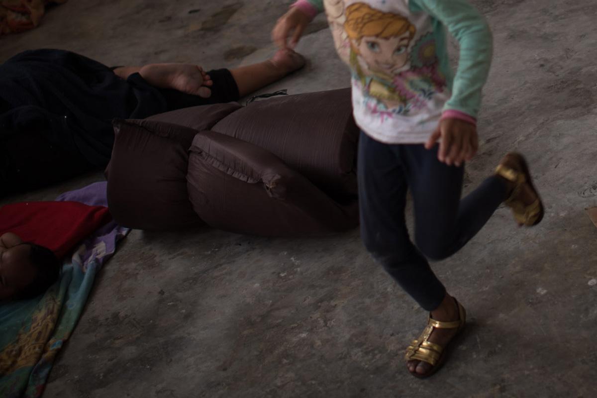 migrante, niña, Departamento de Salud, Centro detención, El Salvador,