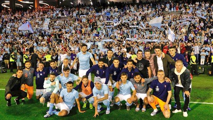 Celta le pegó al Barcelona- Foto: Twitter