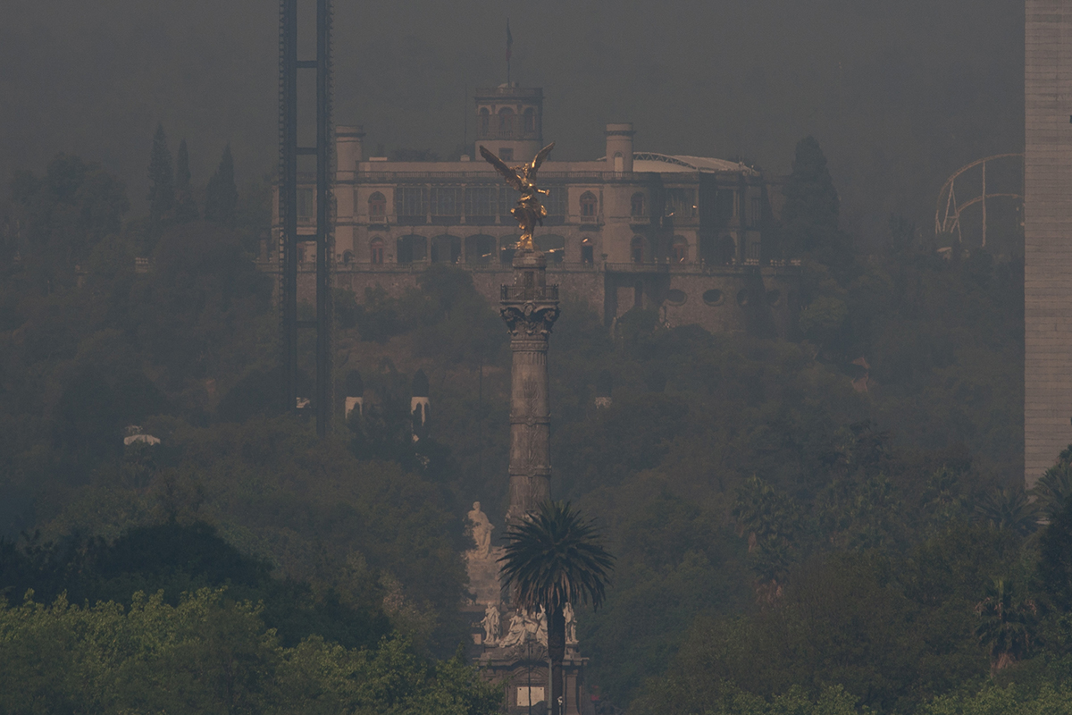 Contingencia ambiental extraordinaria, CDMX, Incendios, Claudia Sheinbaum, Comisión Ambiental de la Megalópolis, contaminación,