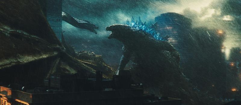 """Escena de """"Godzilla. El rey de los monstruos"""