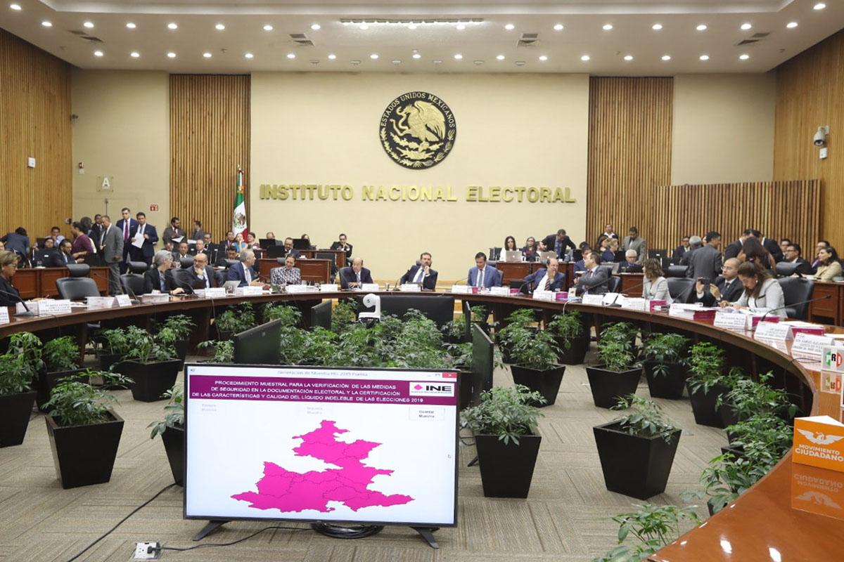 INE, elecciones, seguridad, focos rojos, Lorenzo Córdova Vianello., Puebla,