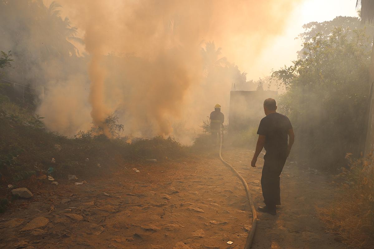 incendio, riesgos, contingencia ambiental, fuego,