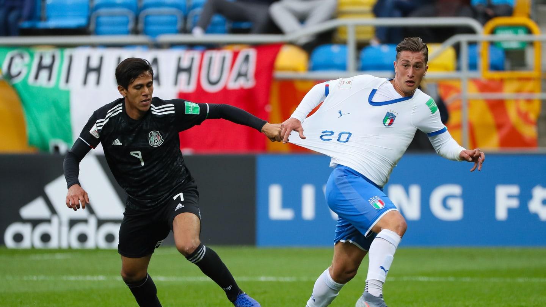 México sucumbió ante Italia en el Mundia Sub 20. Foto: FIFA