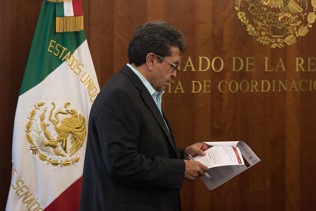 Ricardo Monreal, Congreso mexicano, T-MEC, México, Canadá, Estados Unidos, Julio Scherer Ibarra,