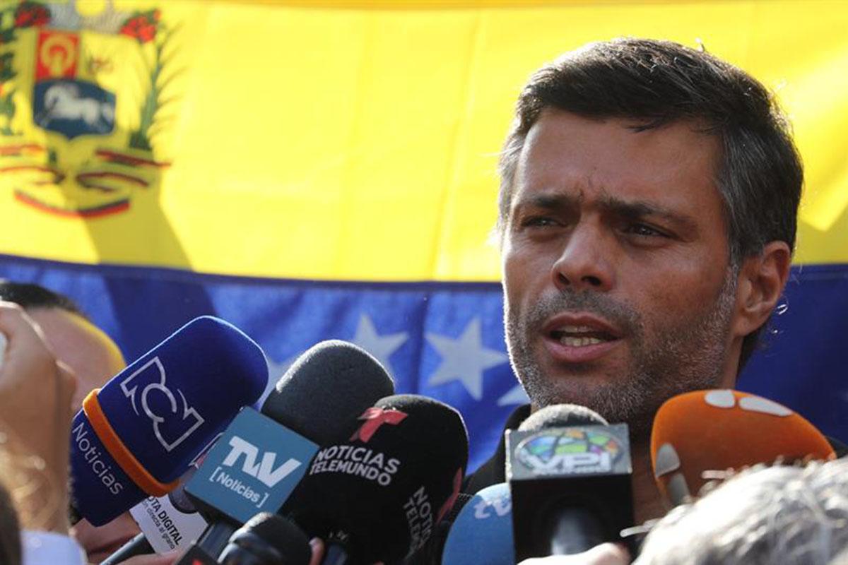 Leopoldo López, Nicolás Maduro, Venezuela, Caracas, Golpe militar,