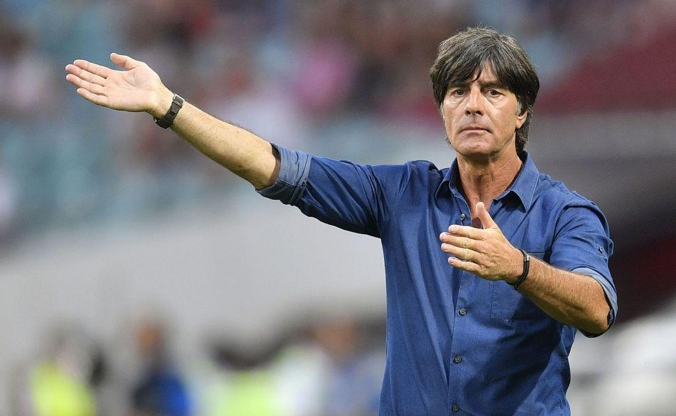 Hospitalizan a técnico de la selección alemana. Foto: EFE
