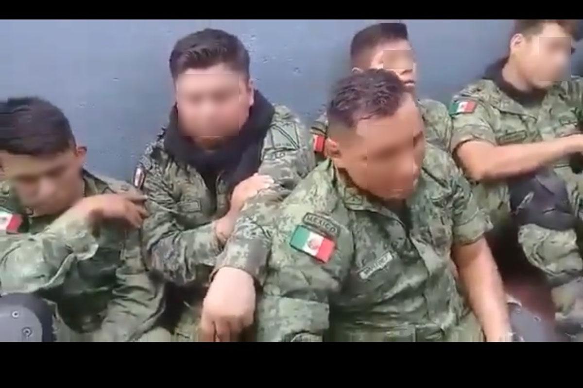 La Huacana, Michoacán, Militares, Tierra Caliente, retención,