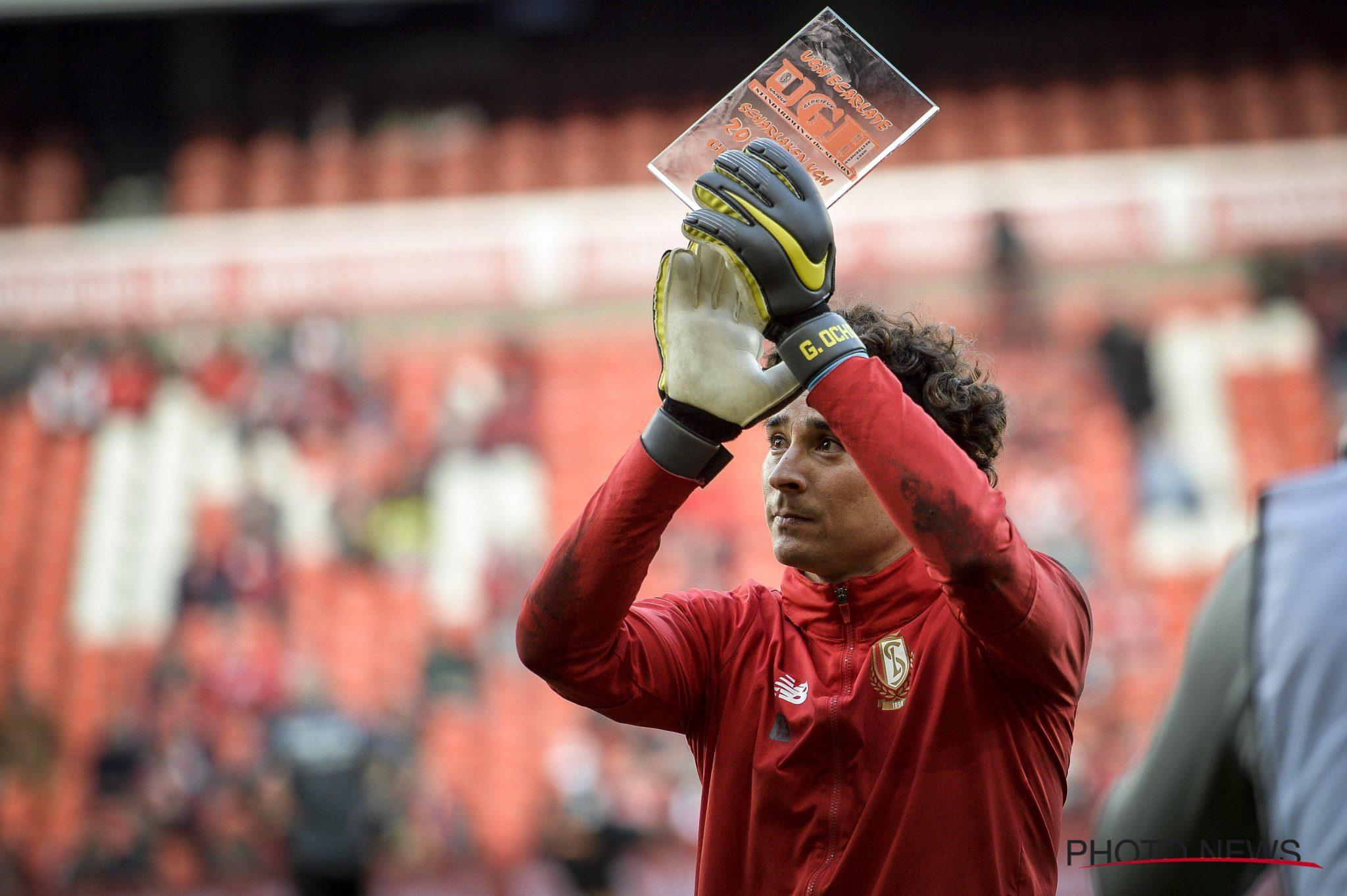 Ochoa el mejor del Standard. Foto: Twitter