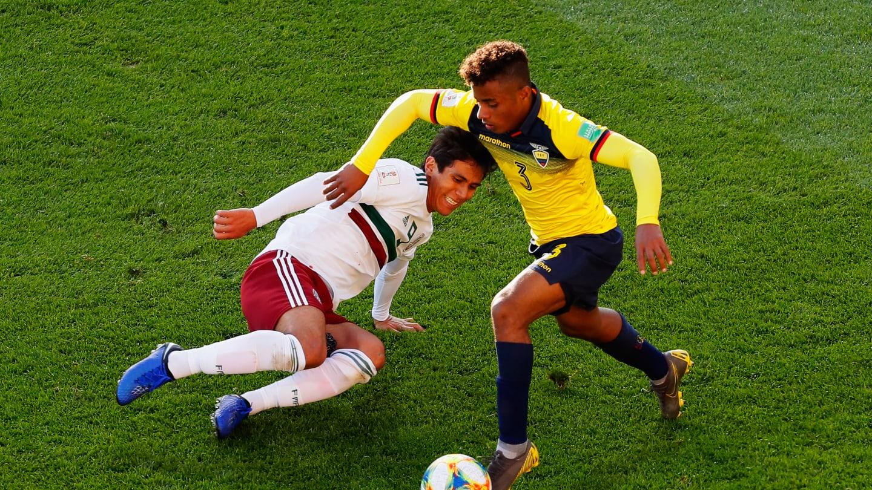 Selección mexicana perdió ante Ecuador. Foto: FIFA