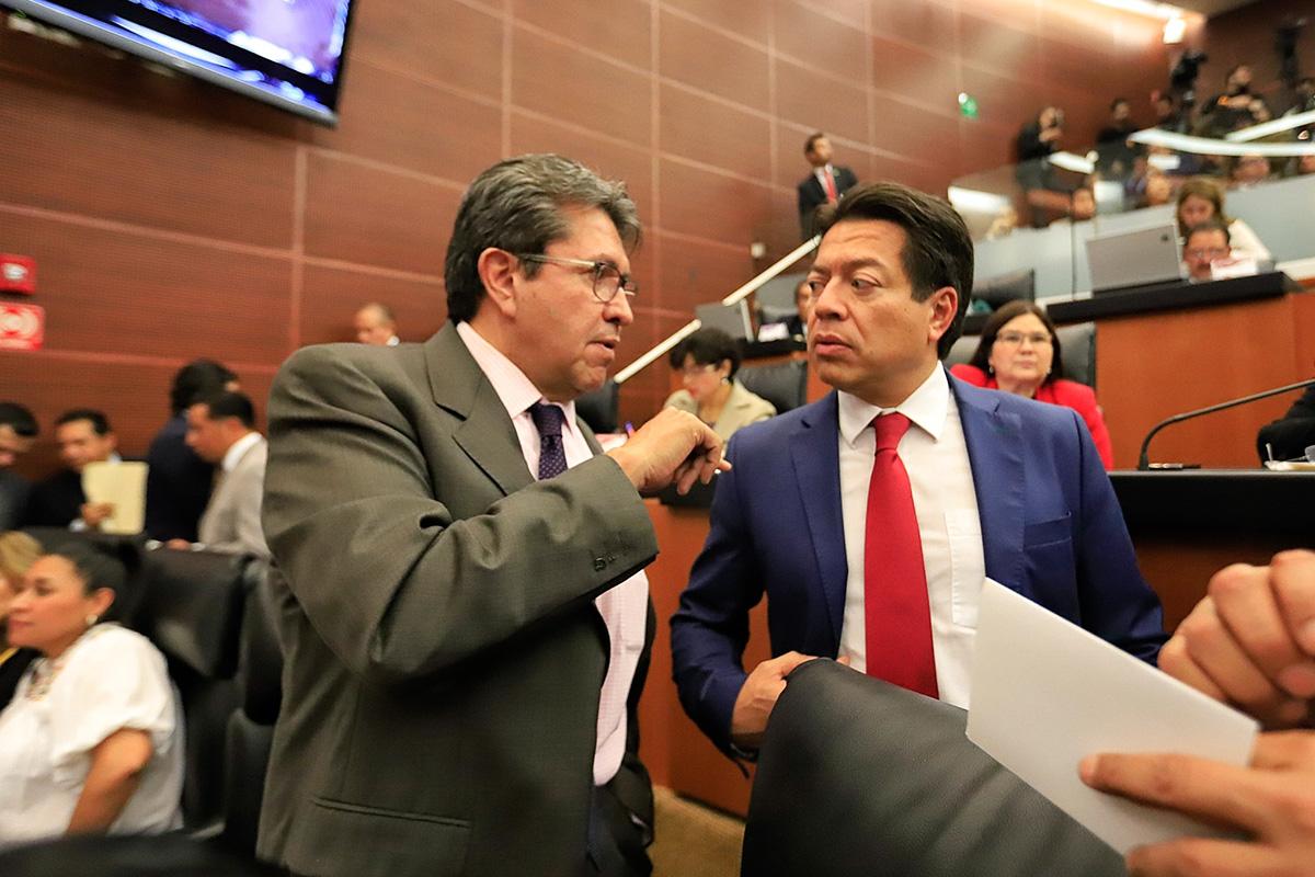 Ricardo Monreal, Mario Delgado, periodo extraordinario, Senado, Diputados, Reforma educativa, Guardia Nacional,