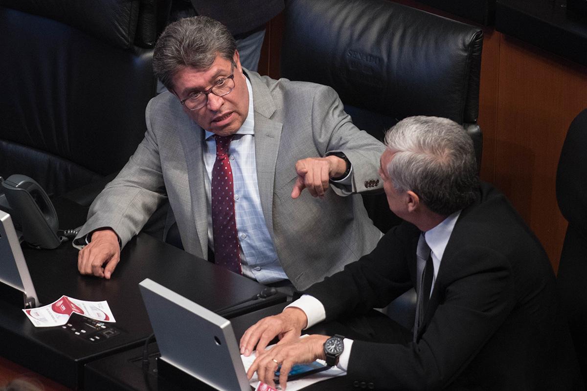 Ricardo Monreal, Guardia Nacional, Senado, Morena,