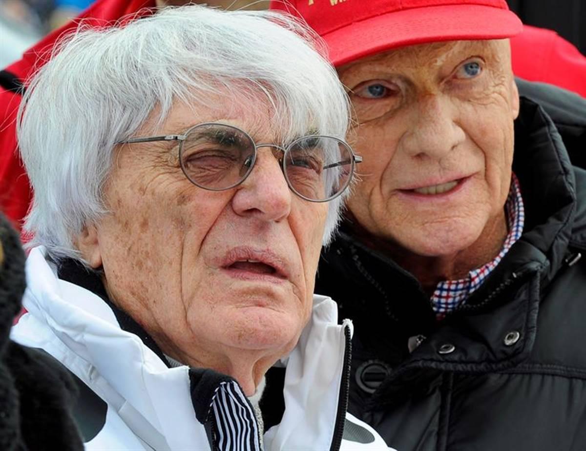 Emotivo adiós a Niki Lauda. Foto: EFE