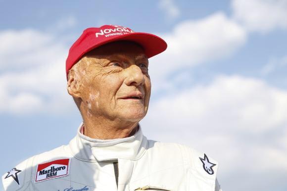 Murió Lauda, leyenda de la Fórmula 1. Foto: Twitter
