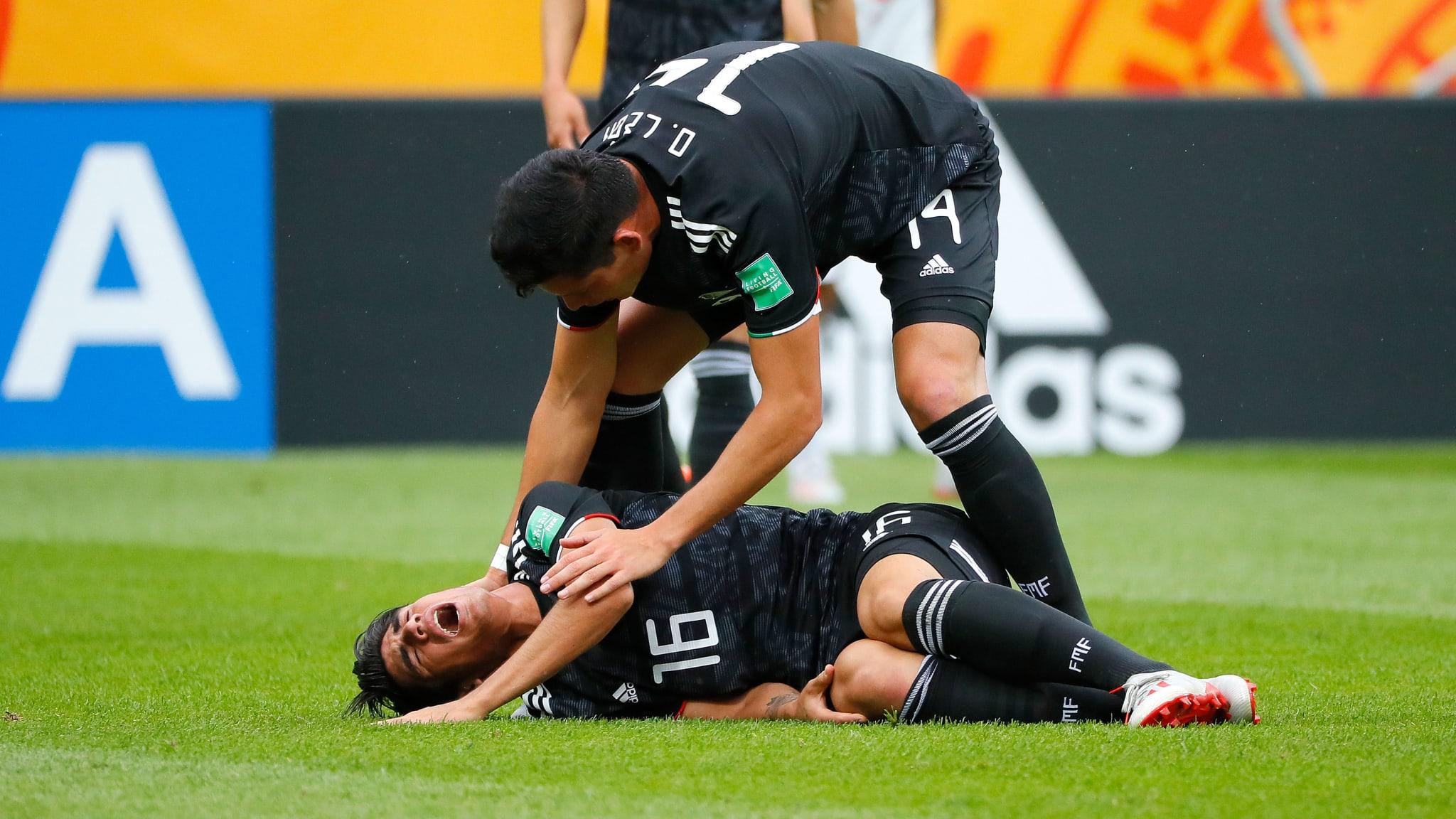México perdió con Japón. Foto: FIFA