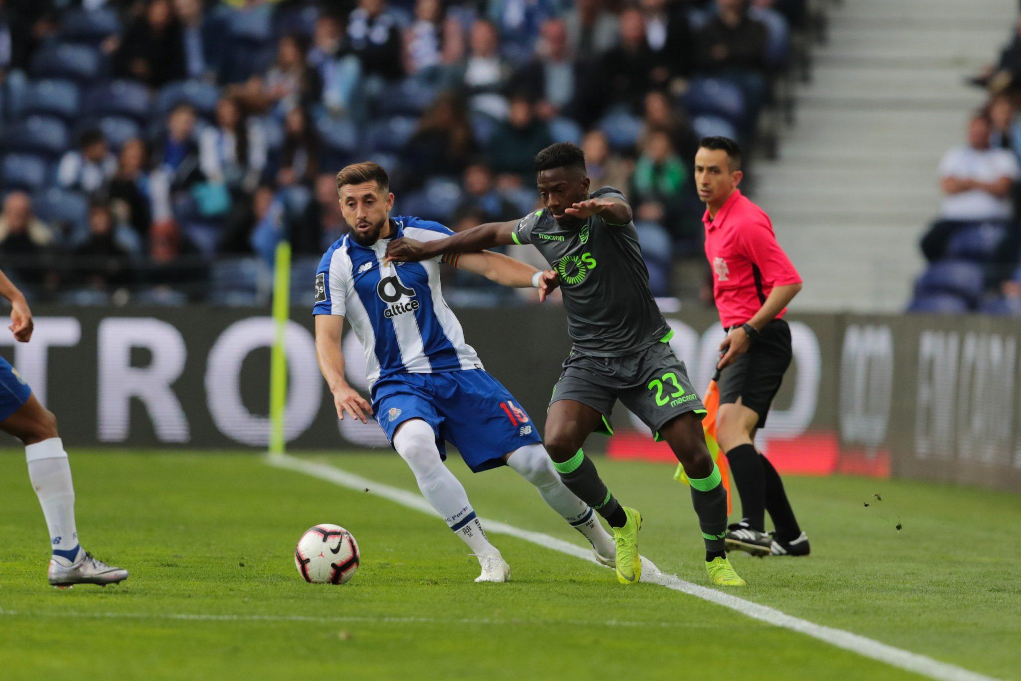 Golazo de Héctor Herrera en victoria del Porto. Foto: Twitter Porto