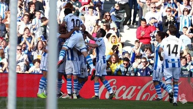 Real Sociedad le pegó al Madrir. Foto: Twitter