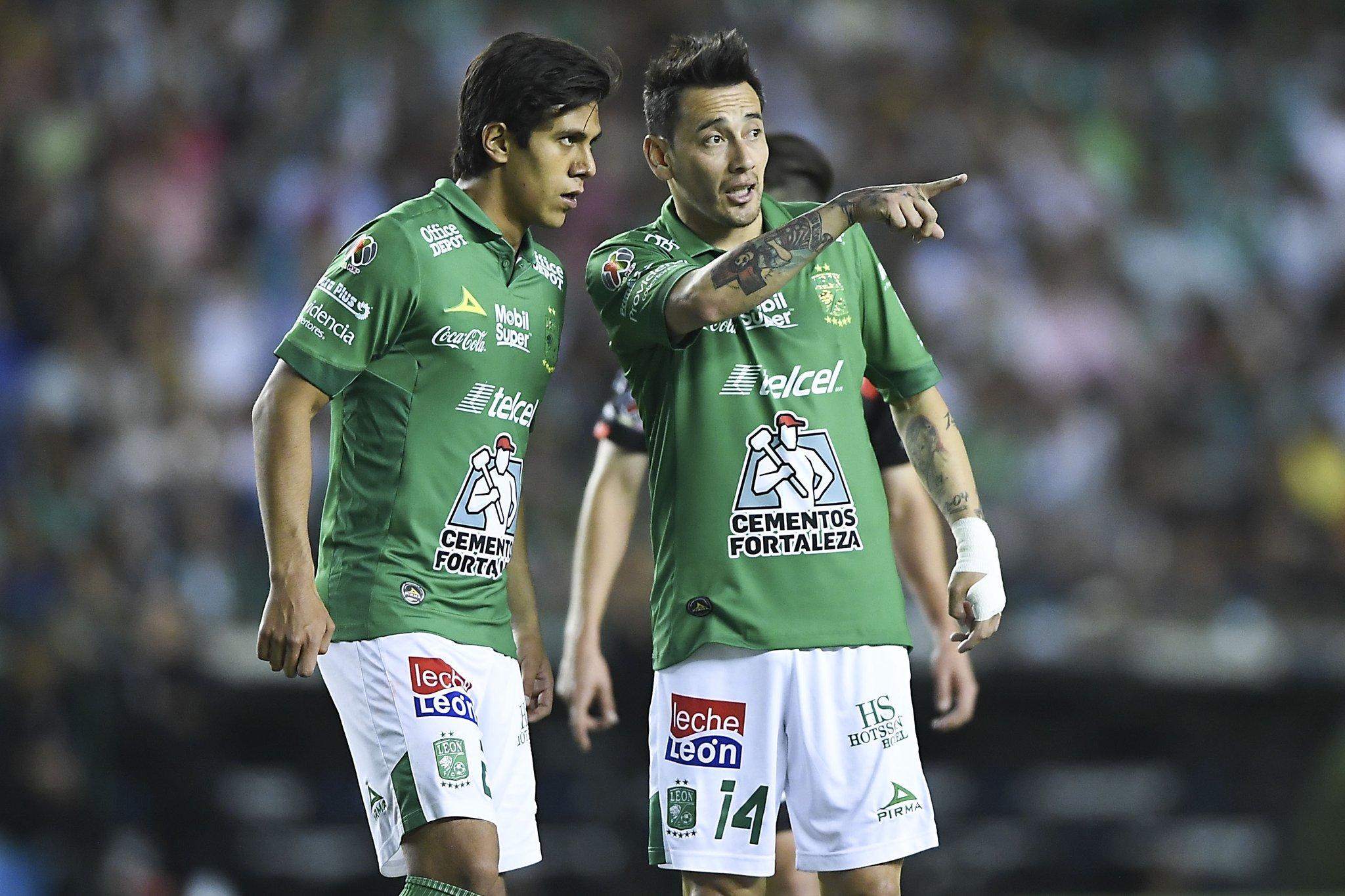 Rubens Sambueza confiado en ganarle a América. Foto: Club León
