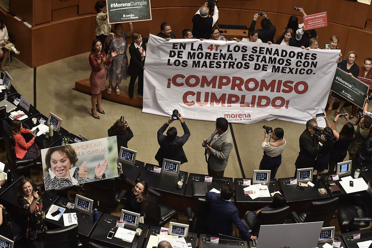 Senado, Reforma Educativa, Elba Esther Gordillo, CNTE, SNTE,