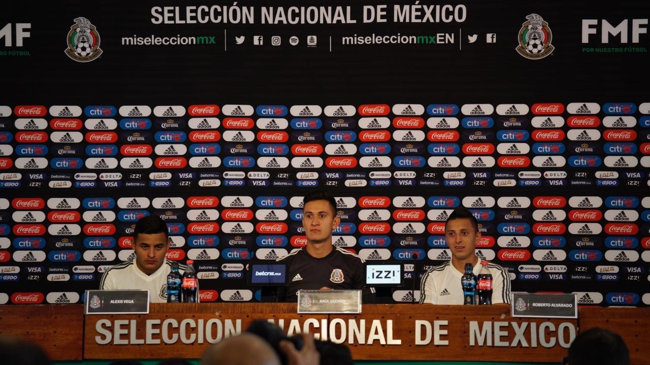 Aceptan en la selección mexicana la etiqueta de favorito. Foto: Twitter mi selección