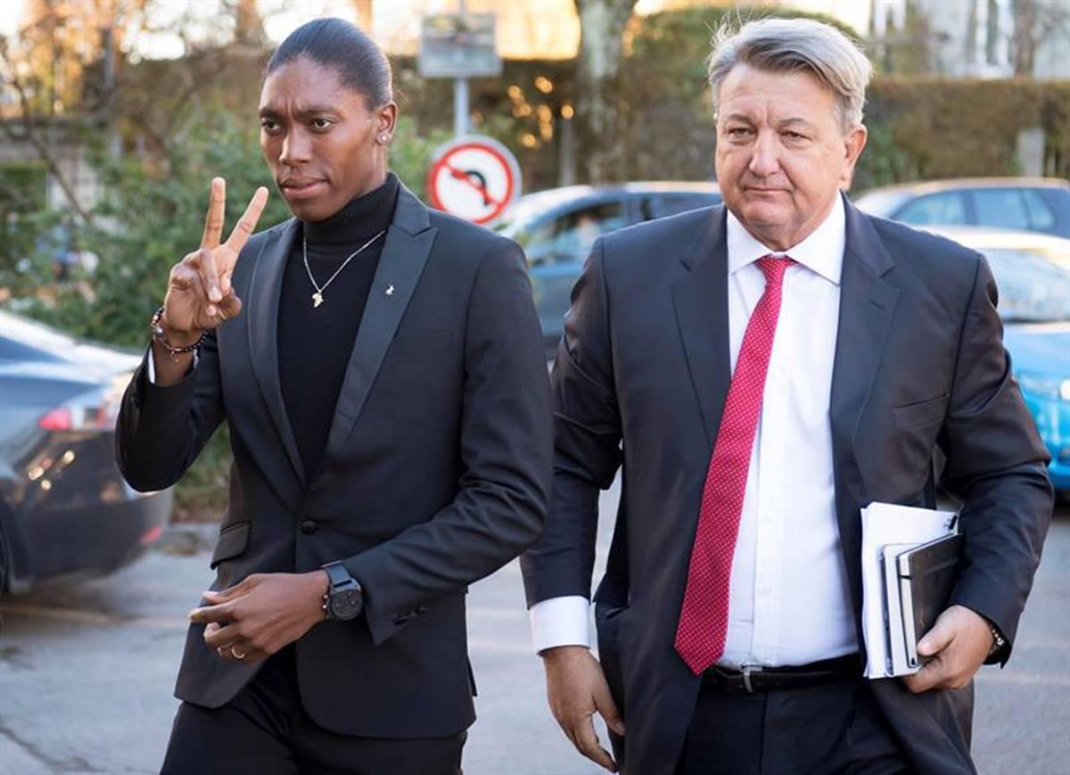 Semenya perdió la batalla legal. Foto. EFE