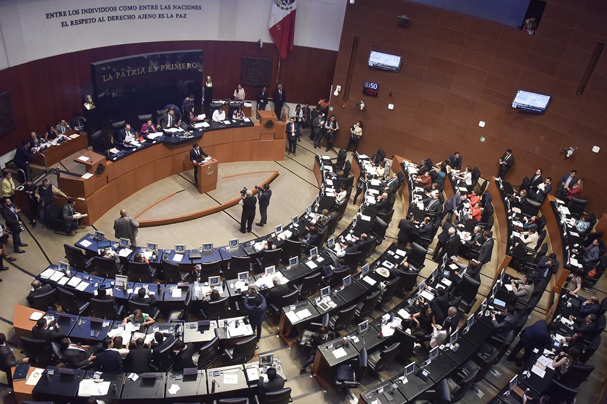 Guardia Nacional, Senado, Martí Batres, grupos parlamentarios,