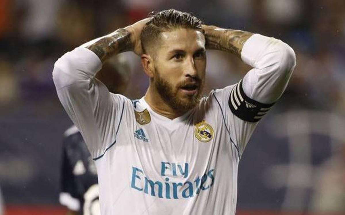 Sergio Ramos está dispuesto a salir del Real Madrid. Foto. EFE