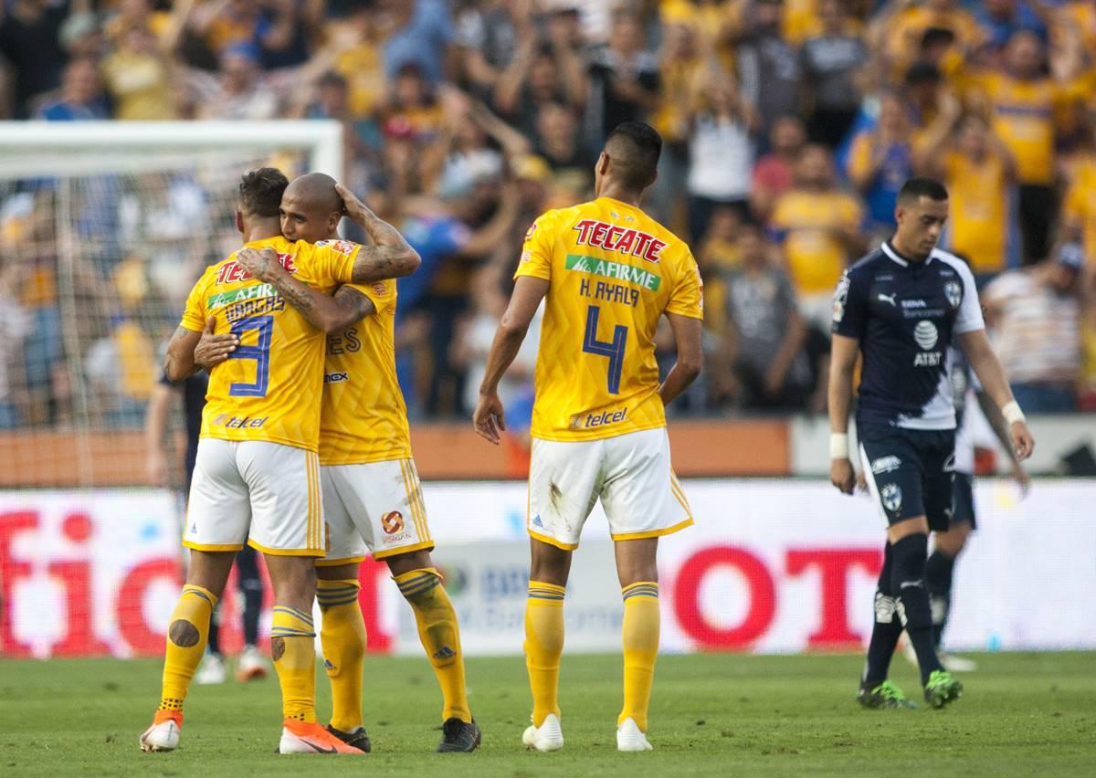 Tigres le pegó a Monterrey. Foto: Cuartoscuro