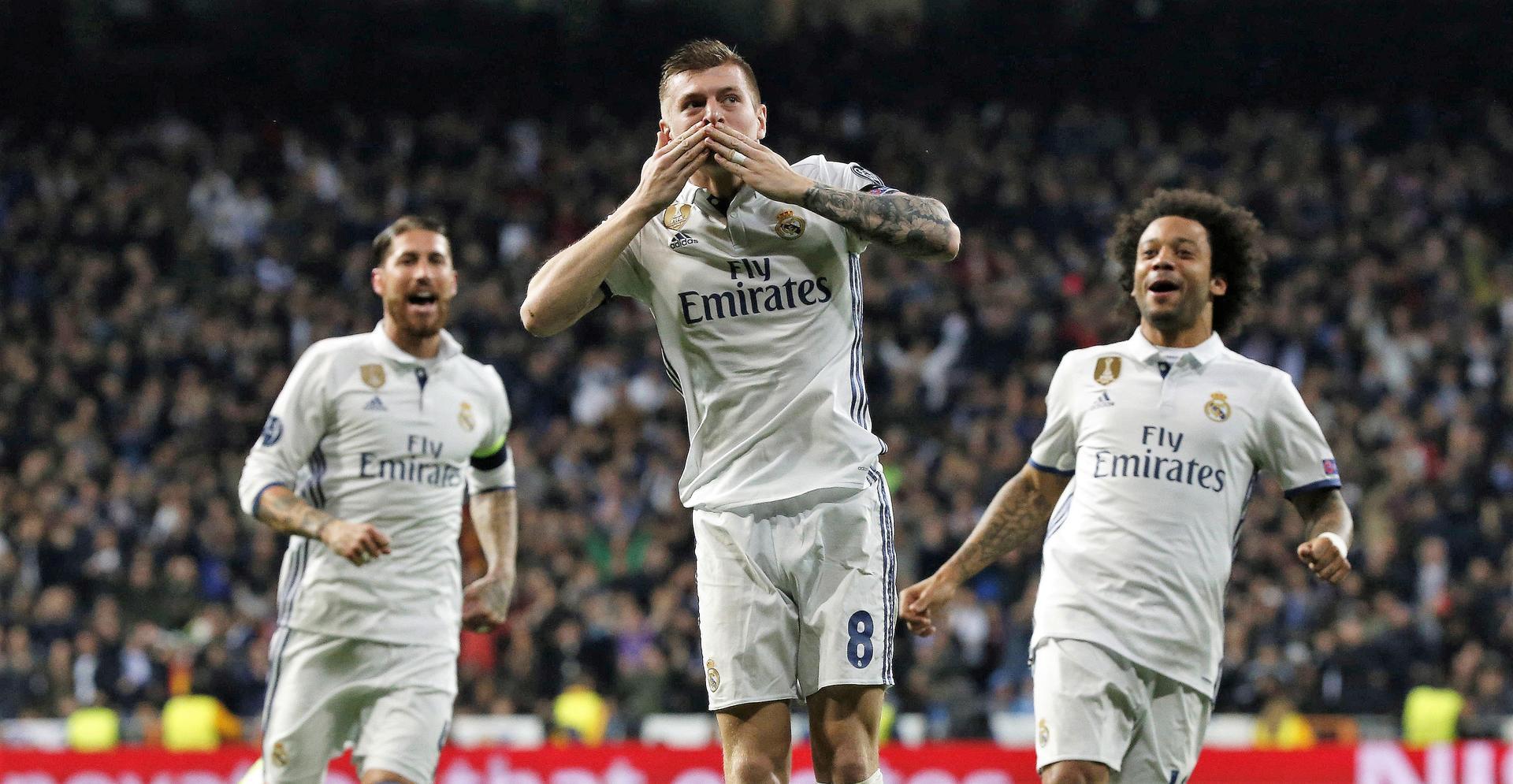 Tony Kroos renovó con el Real Madrid. Foto: EFE