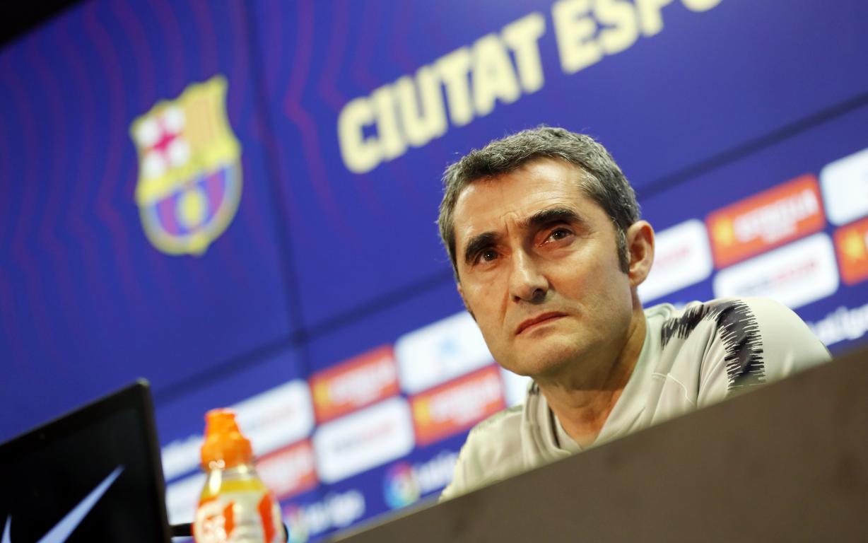 Valverde sigue con Barcelona. Foto: Twitter