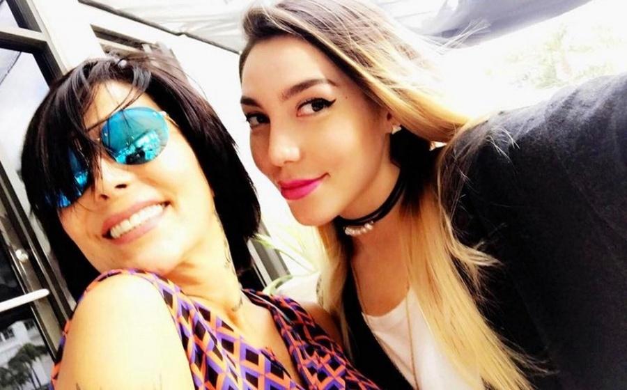 Alejandra Guzmán y su hija Frida Sofía