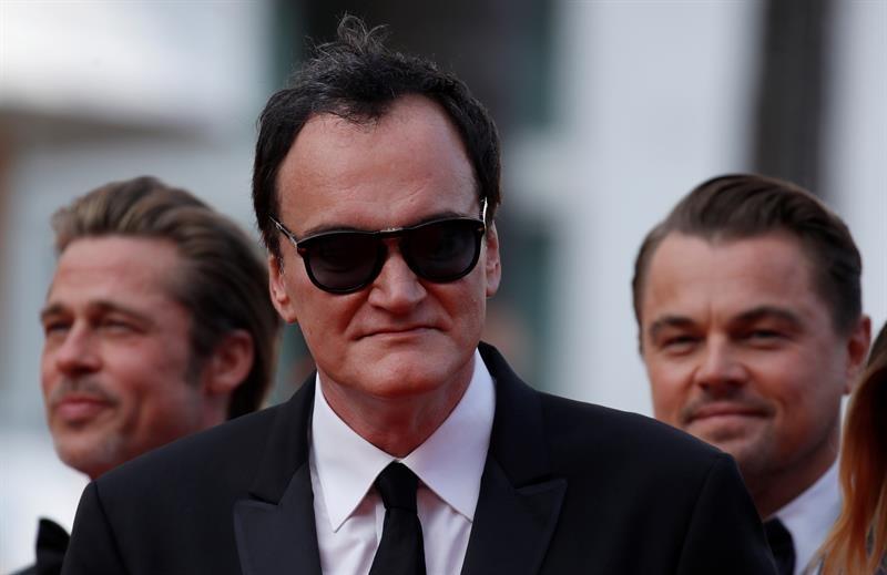 Quentin Tarantino en Cannes