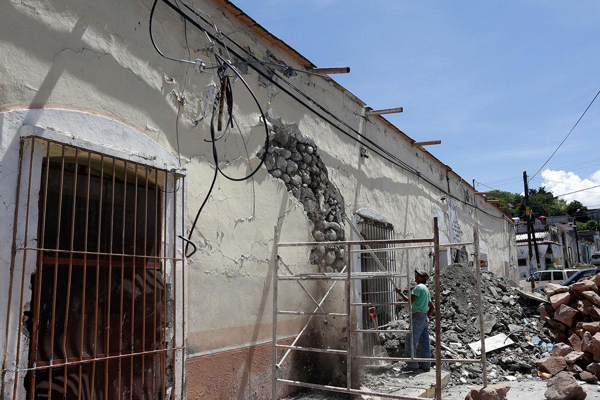 sismos, terremoto, daños, AMIS, Reconstrucción, Huracán, fenómenos naturales,