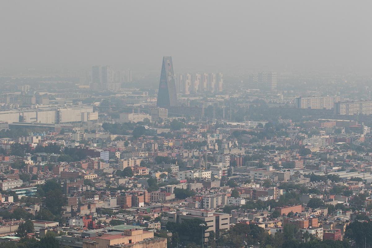 Contaminación, Valle de México, partículas, Contingencia ambiental,