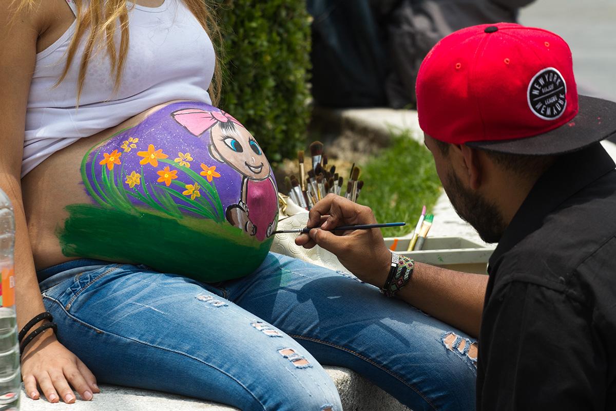 Embarazo, madre, Día de la Madre, UNAM, Memoria, madurez,