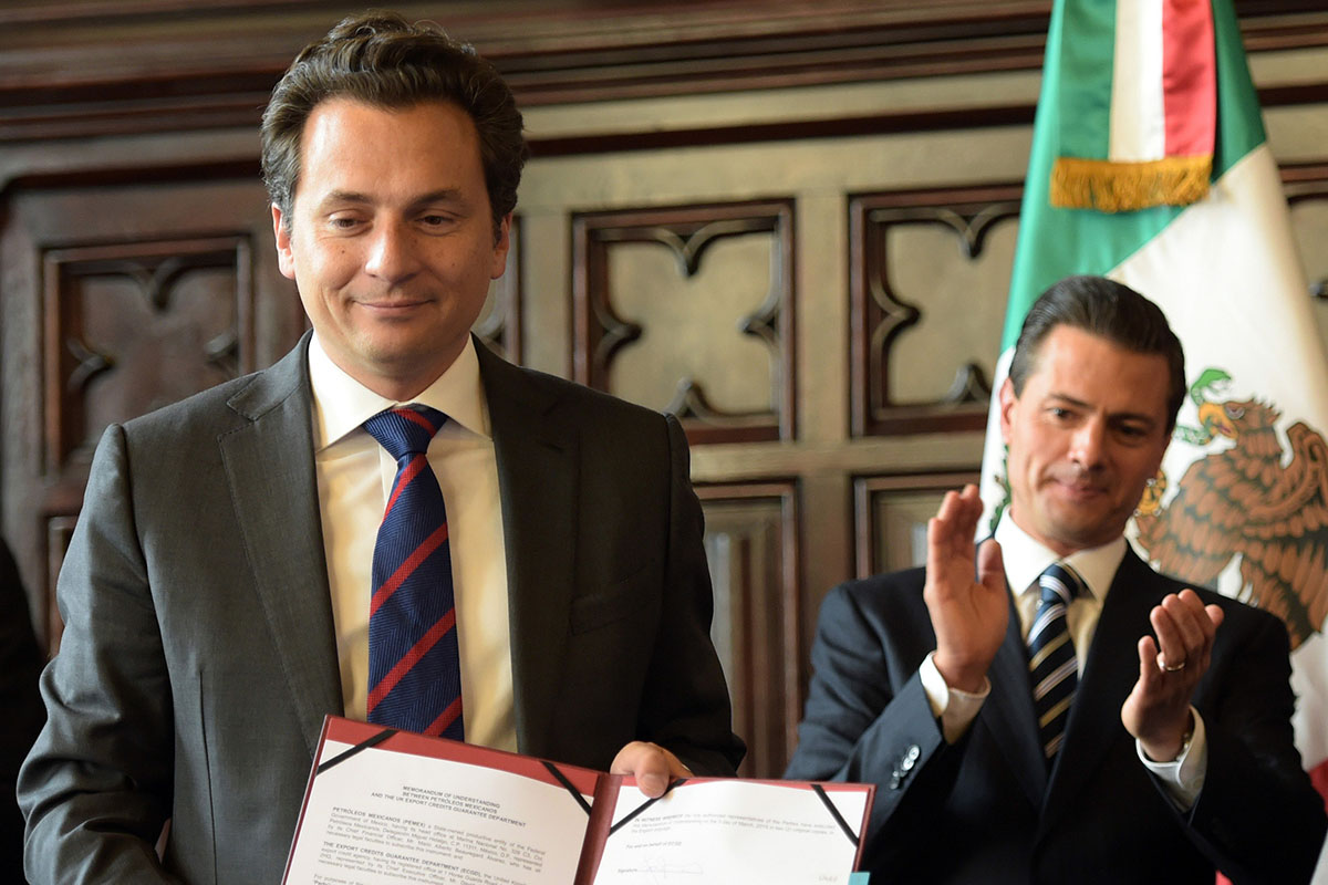 Emilio Lozoya Austin, Interpol, Ficha Roja, Pemex, detención, FGR,