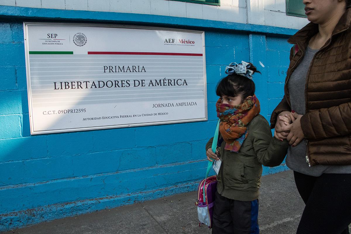 SEP, Escuelas, contaminación, Valle de México, Contingencia ambiental, suspensión, partículas,