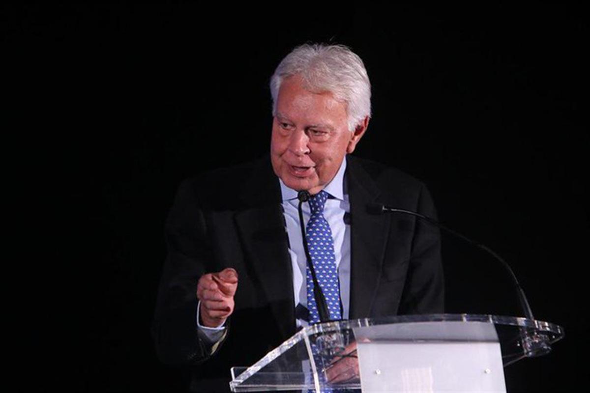 Felipe González, Fundación Círculo Montevideo, populismo, El expresidente del Gobierno español,